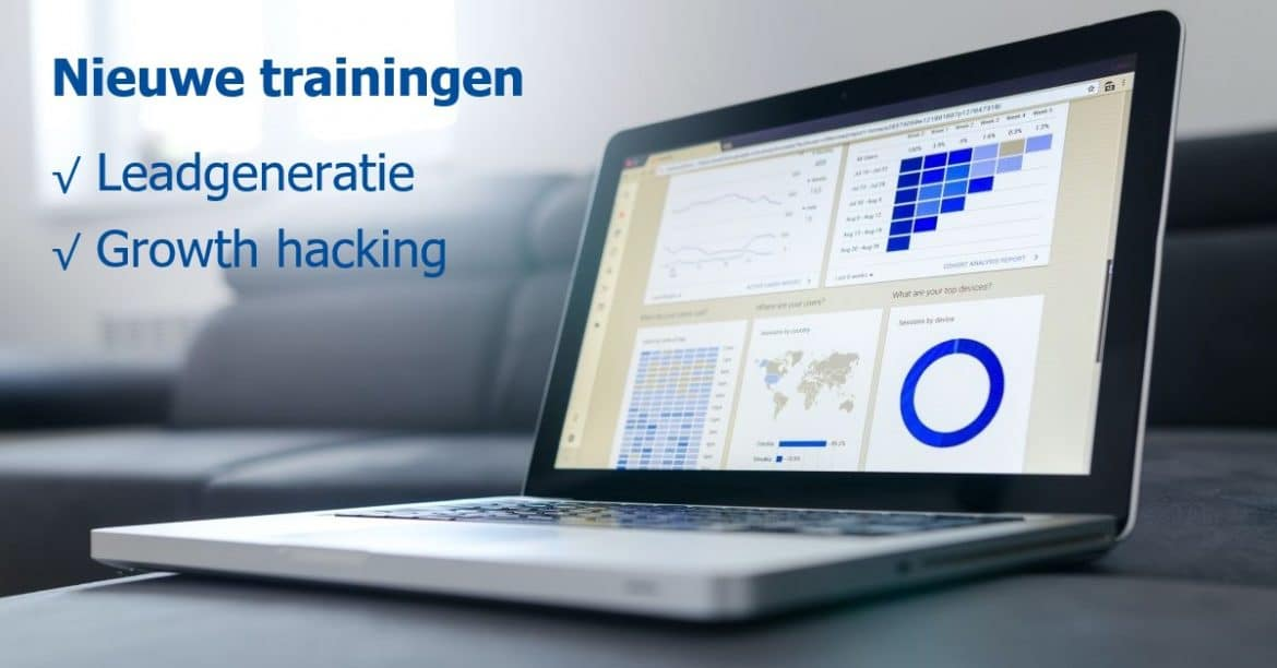 nieuw: leadgeneratie en growth hacking training